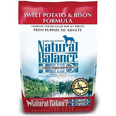 Natural Balance L.I.D. Limited Ingredient Diets Sweet Potato & Bison Formula Dry Dog Food