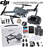 Best Selling Camera Drones 51h9k6H1zwL._SL160_ Review of DJI Mavic Pro Collapsible Quadcopter Drone Ultimate Bundle w/ Remote Controller, Intelligent Flight Battery, 8330 Folding Propellers, Gimbal Clamp, Charger, AC Power Cable, 16GB microSD Card + More