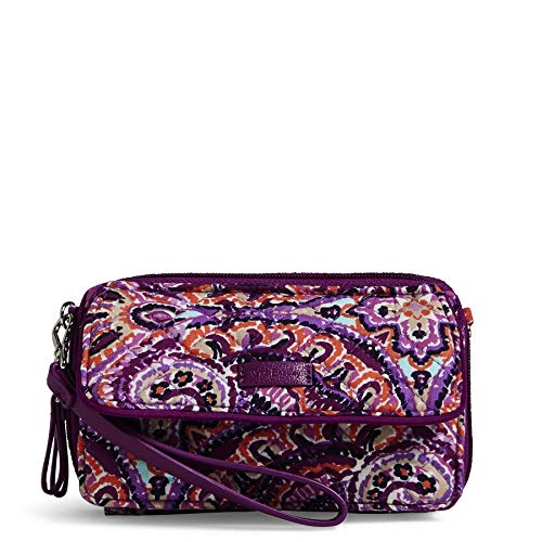 Vera Bradley Iconic RFID All in One Crossbody, Signature Cotton, Dream Tapestry