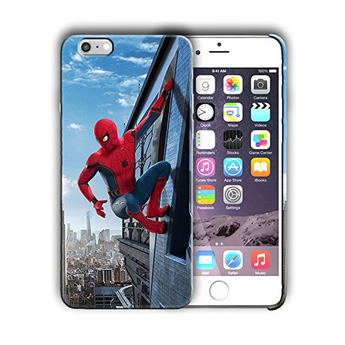 Superheroes design for Iphone 6 6s (4.7in) Hard Case Cover (spide14)