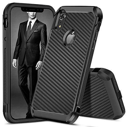 Carbon Fiber Hard Case - iPhone XR Case, Case iPhone XR/6.1