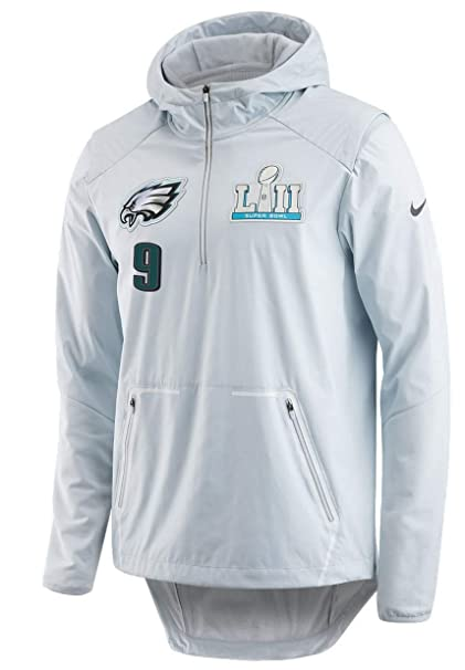a9ba690a1 Nick Foles Philadelphia Eagles Super Bowl 52 LII Men s NFL Media Night  Jacket (XX-