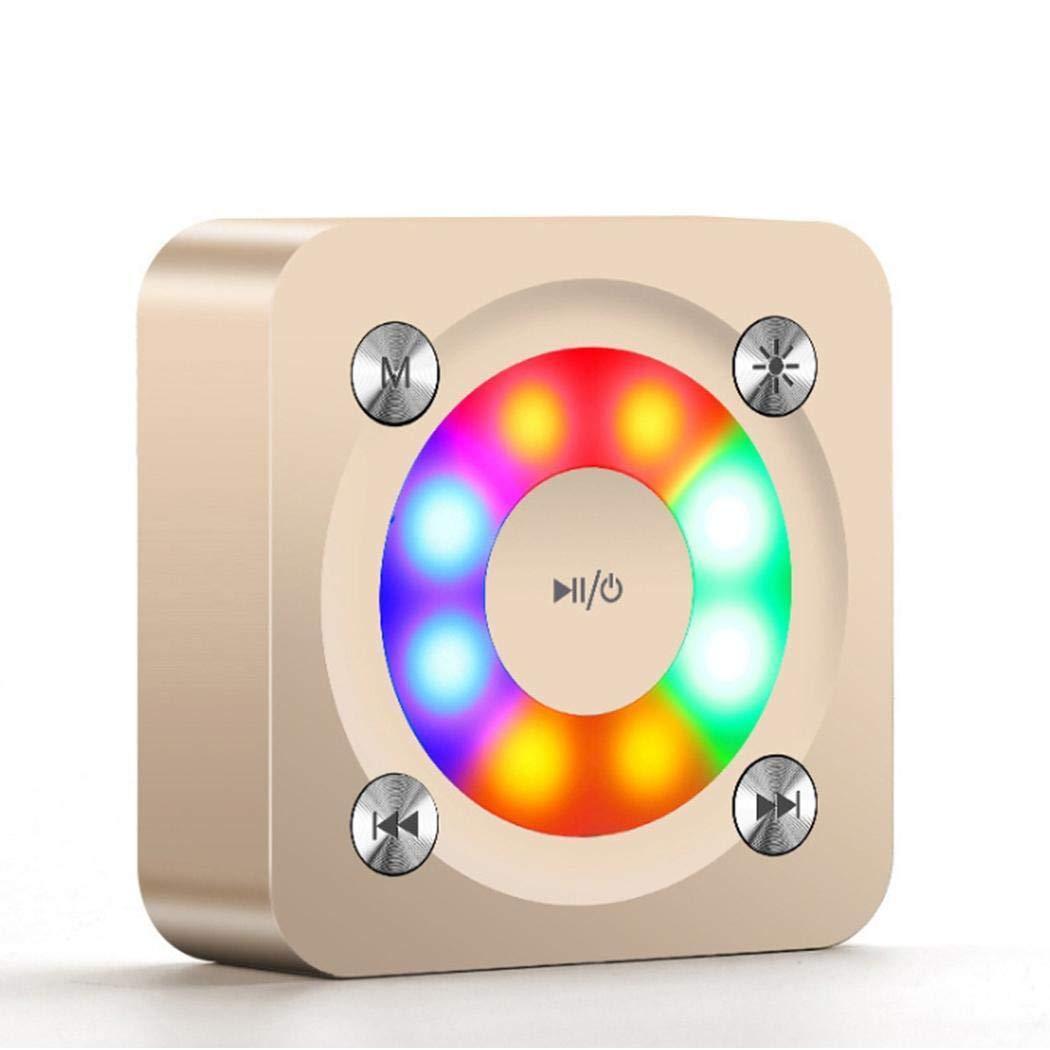 Pinsparkle ポータブルワイヤレスマルチカラーBluetoothスピーカー ミニラウドスピーカー コンピュータースピーカー 1 PAF037380_GO_2  ゴールド2 B07MT5Q5FJ