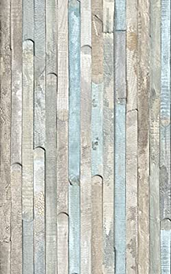 "d-c-fix 346-0644 Decorative Self-Adhesive Film, Beach Wood, 17.71"" x78"" Roll"