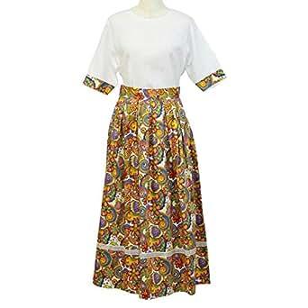 Gh Design Skirt And Top Set For Women - M, White