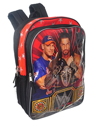 2018 WWE 16 inch Backpack with Side Mesh Pockets by Accessory Innovations