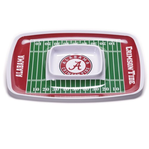 NCAA Alabama Crimson Tide Melamine Chip and Dip