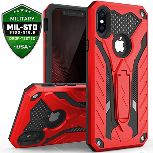 Zizo-Static-Series-Compatible-with-iPhone-X-case-with-Kickstand-Military-Grade-Drop-Tested-Impact-Resistant-Heavy-Duty-Case-iPhone-Xs
