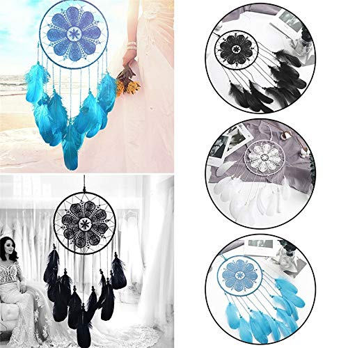 Amazon.com: Chitop Indian Style Dreamcatcher Handmade - Wind Chimes Hanging Pendant Dream Catcher - Home Wall Art Hangings Decorations (01): Home & Kitchen