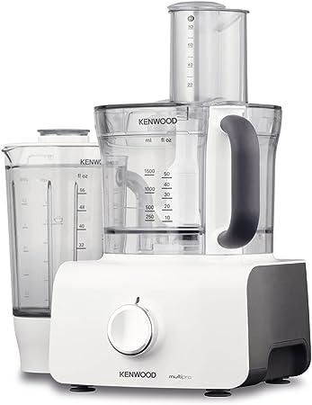 Kenwood FDP623WH Multipro Home - Robot de cocina (plástico, 21 x 22 x 40 cm), color blanco y gris: Amazon.es: Hogar