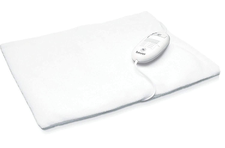 Beurer 271.92 Rheumatherm - Almohadilla eléctrica, color blanco: Amazon.es: Salud y cuidado personal