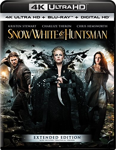 4K Blu-ray : Snow White & the Huntsman (With Blu-Ray, 4K Mastering, Ultraviolet Digital Copy, 2 Pack, Snap Case)