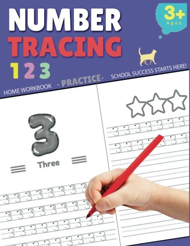 number tracing book - 5