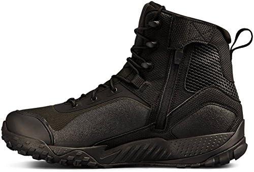 Under Armour Valsetz 1.5 Men's Side Zip RTS Military Tactical Black Boot 001)/Black