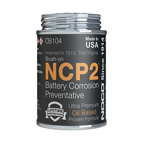 NOCO NCP2 CB104S 4 Oz Brush-On Oil Based Battery Corrosion Preventative from NOCO