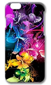 Colorful Flowers Thanksgiving Easter Masterpiece Limited Design PC Black 3D Case for iphone 6 by Cases & Mousepads
