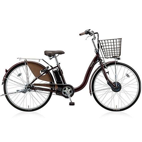 BRIDGESTONE(ブリヂストン) 18年モデル フロンティア F6AB28 26インチ 電動アシスト自転車 専用充電器付 B076S6GZCJF.Xカラメルブラウン
