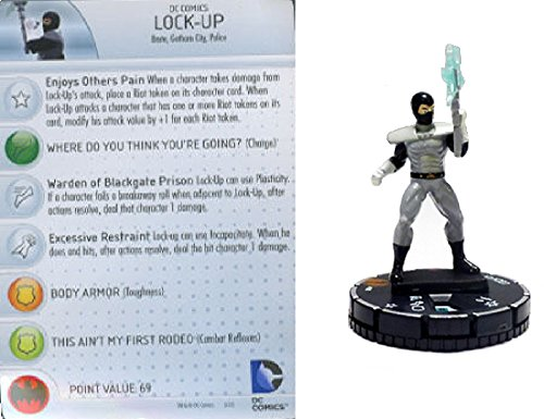 DC Comics Heroclix Batman No Mans Land Lock-Up #001 Limited Edition Figure