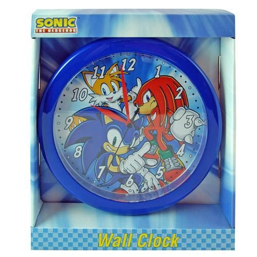 Sonic the Hedgehog Wall Clock
