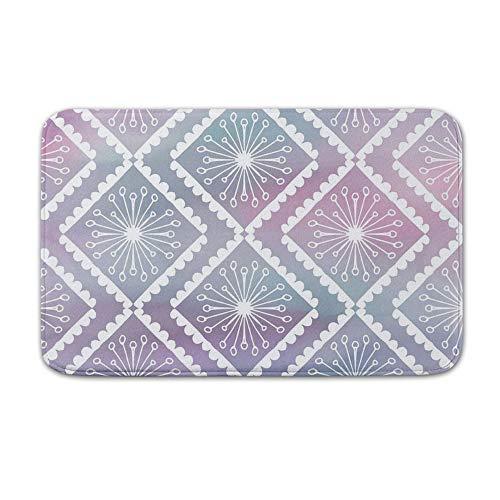 DKISEE Indoor Outdoor Entrance Rug Floor Mat Bathmat Watercolor Pattern Doormat, 15.7