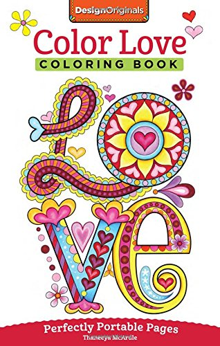 Color Love Coloring Book: On-The-Go! (On-The-Go! Coloring Book)