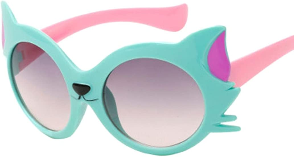 JoyJay Children Sunglasses Baby Girls Boy Cartoon Cat UV400 Toddler Sunglasses