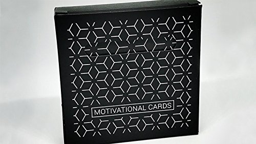 Motivational Cards Gimmicks and Online Instructions by Luca Volpe Trick (Online Volpes)