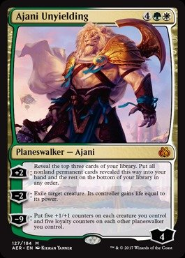 Magic: the Gathering - Ajani Unyielding (127/184) - Aether Revolt