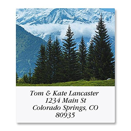 France Self-Adhesive, Flat-Sheet Select Address Labels by Colorful Images (12 Designs), Count 144 ()