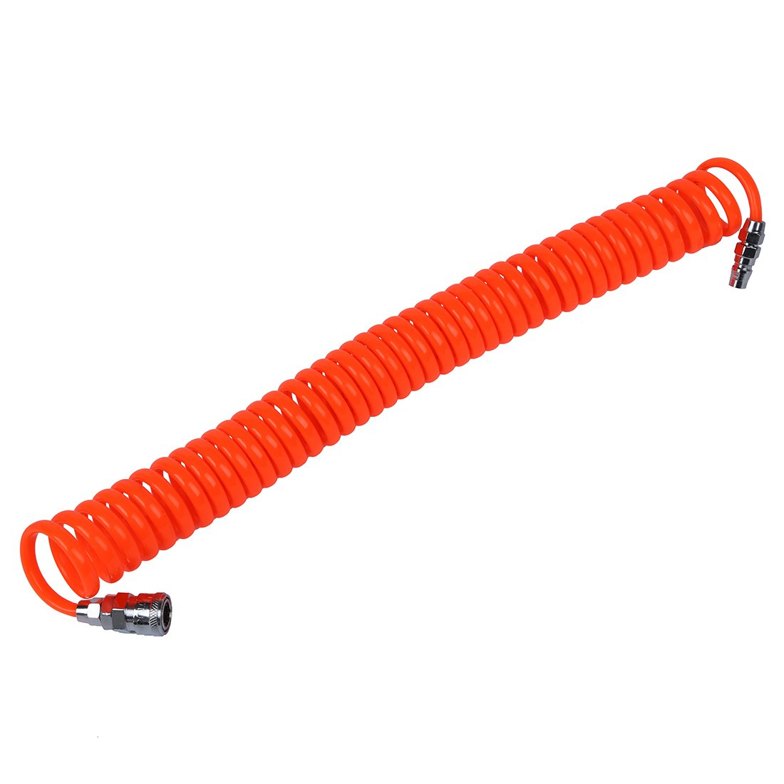 SNOWINSPRING 6M 19.7Ft 8mm x 5mm Flexible PU Recoil Hose Tube for Compressor Air Tool
