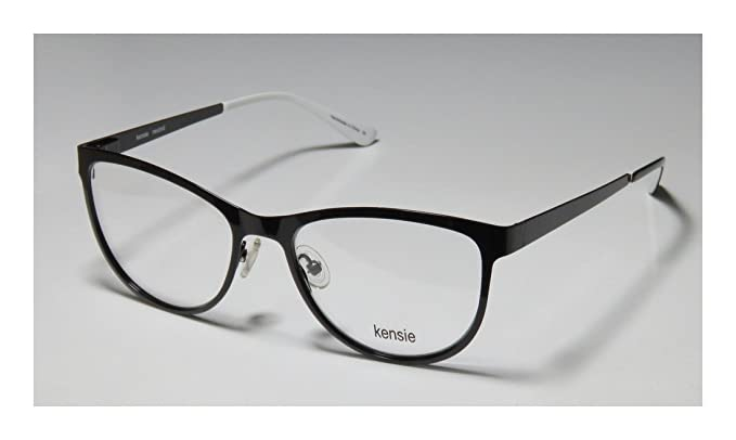 KENSIE Eyeglasses NEUTRAL Black 52MM at Amazon Men\'s Clothing store ...
