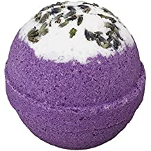 Relaxing Lavender BUBBLE Bath Bomb in Gift Box - Large Lush Fizzy Kit, Valentine Mothers Day Gift Idea for Women, Moms, Teens, Girls - Made in the USA - Two Sisters Spa - Essential Oil Sweet Dreams