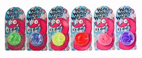 Wriggly Woolly Worm - Assorted Colours - House of Marbles by House of Marbles