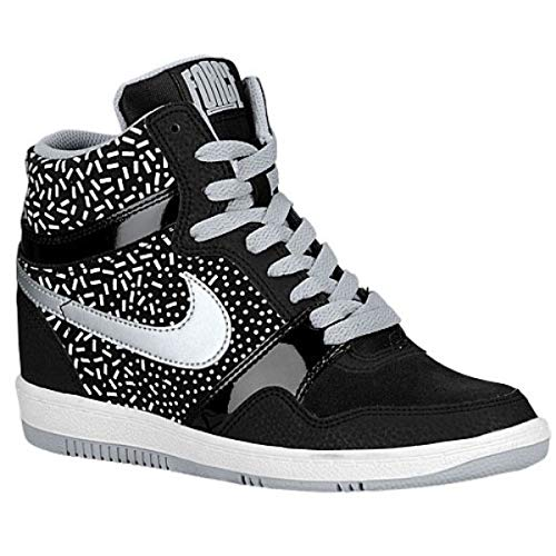 ブラジャービン公然と(ナイキ) Nike レディース バスケットボール シューズ?靴 Force Sky High [並行輸入品]