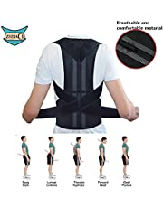 Posture Corrector for Women Men – Thoracic Posture Brace – Comfortable Adjustable Clavicle Posture Support – Improve Kyphosis Brace – Back Posture Trainer – Upper Back support S-XXL