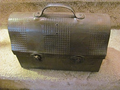vintage antique Handy Andy worker/schoolkid TIN lunch pail, c. 1910-20 ()