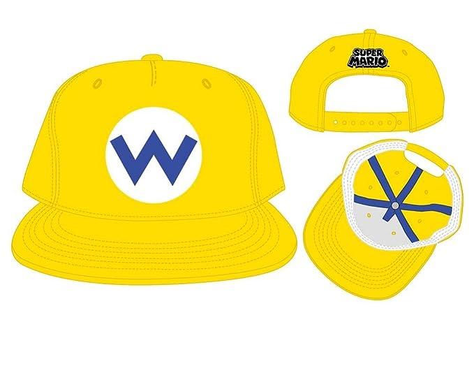 7829eae2d Wario Super Mario Nintendo Officially Licensed Costume Hat