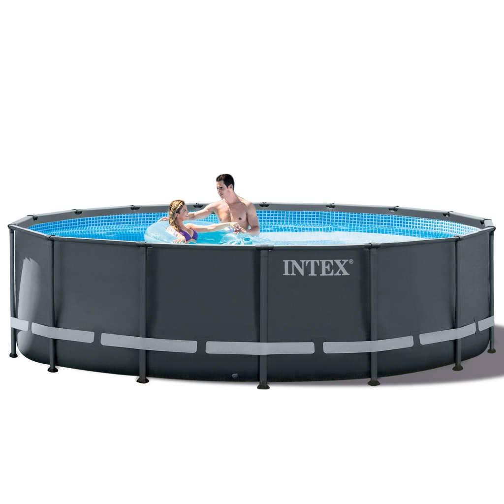 vidaXL 91493 Intex Ultra XTR 26326GN - Juego de Piscinas Redondas ...