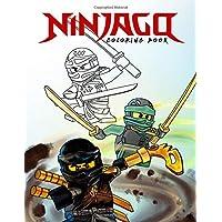 Ninjago Coloring Book: The Lego Ninjago Movie Coloring Book: Amazing Coloring Books for Kids Aged 4-12