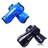 SEALEN Youth Soccer Shin Guards, 2 Pair Lightweight and Breathable Child Calf Protective Gear, Soccer Equipment for 4-8 Years Old Boys Girls Children Teenagers