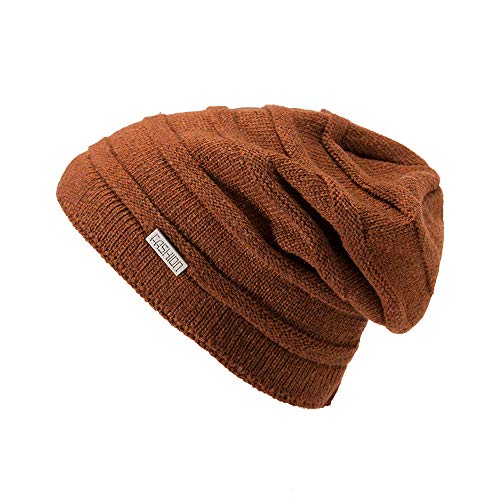 Emimarol Womens Slouchy Beanie,Trendy Chunky Cable Knit Beanie,Oversized Winter Hats for Women ()