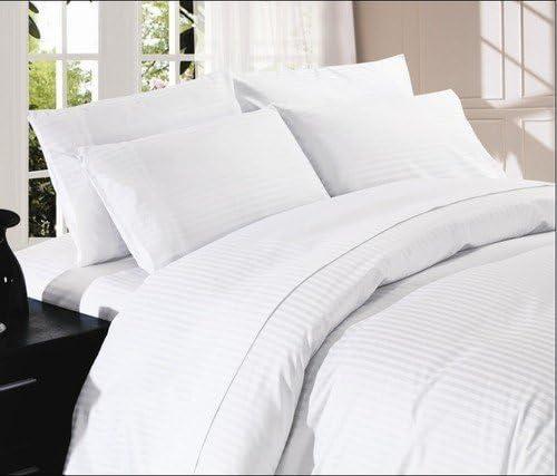 Dreamz Bedding- 1000-THREAD-COUNT algodón Egipcio 4 Piezas Juego ...