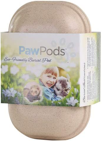 PAW cápsulas Biodegradable Caja de Pet, Small: Amazon.es ...