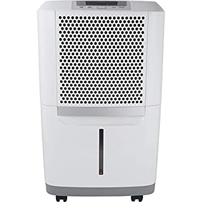 Frigidaire High 70 Pints-Per-Day Portable Dehumidifier with SpaceWise Design for Effective and Efficient Moisture Control, FAD704DWD, Fit for Use in any Damp Spaces in the Home, White: Home & Kitchen
