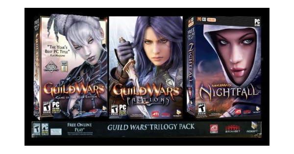 Guild Wars Trilogy Pack