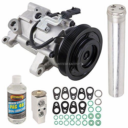 AC Compressor w/A/C Repair Kit For Dodge Nitro & Jeep Liberty - BuyAutoParts 60-81374RK NEW (Accumulator Dodge A/c)