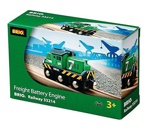 BRIO Freight Battery Engine Wooden Railway Thomas Train Engine compat 33214 (Sh Rc Engines)