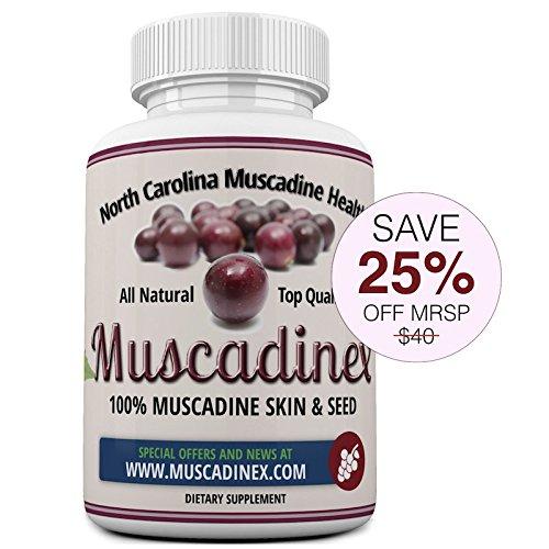 MX1 Longevity Blend. Muscadine Resveratrol, Ellagic Acid, Quercetin, Kaempferol & Myricetin. Diabetic friendly