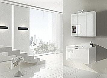 Cartagena ARCOM Bathroom Furniture Set In High Gloss White