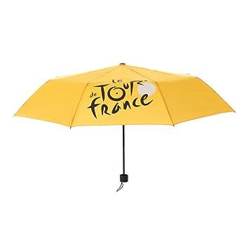 Tour de France tdf-acc-025 J tu Paraguas Unisex, amarillo